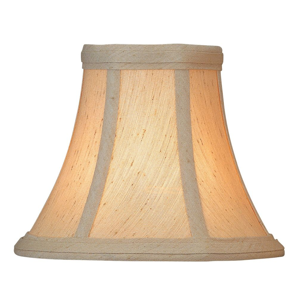 Beige Bell Lamp Shade With Clip On Assembly Ch511 6