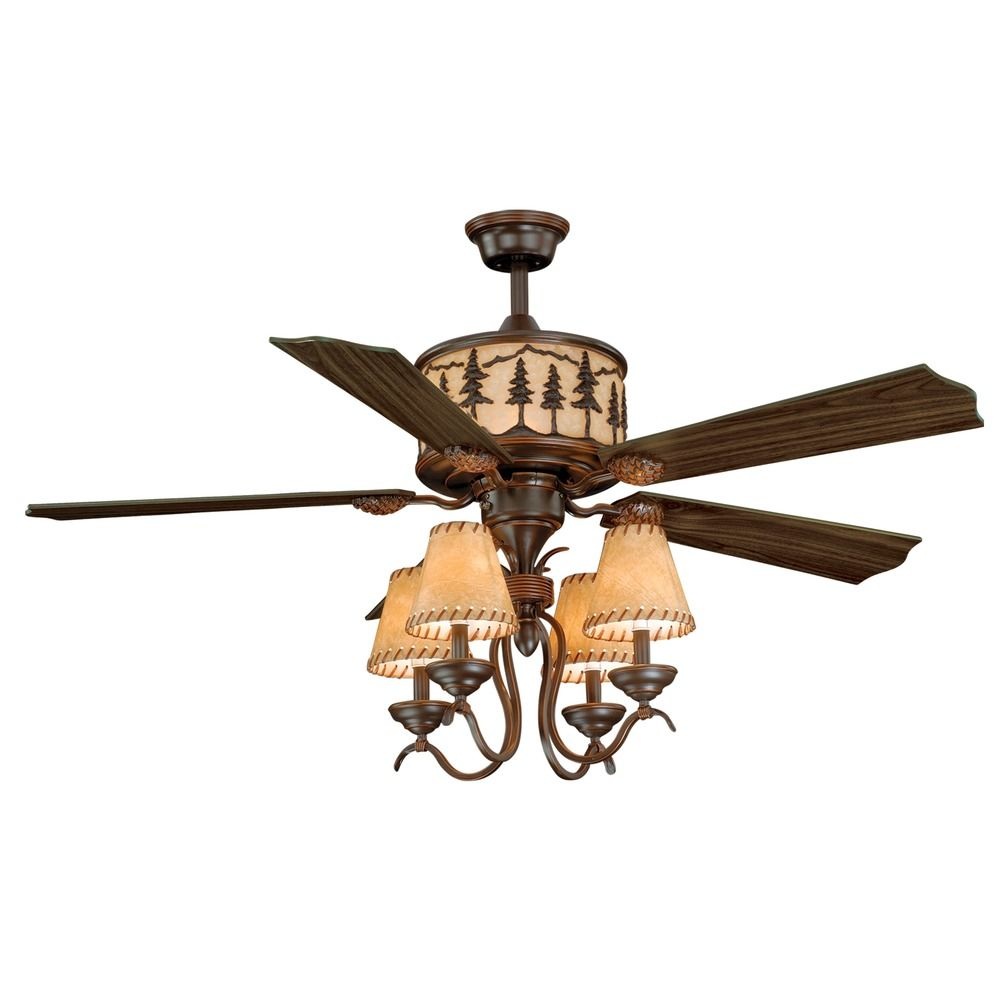 Yosemite Burnished Bronze Ceiling Fan