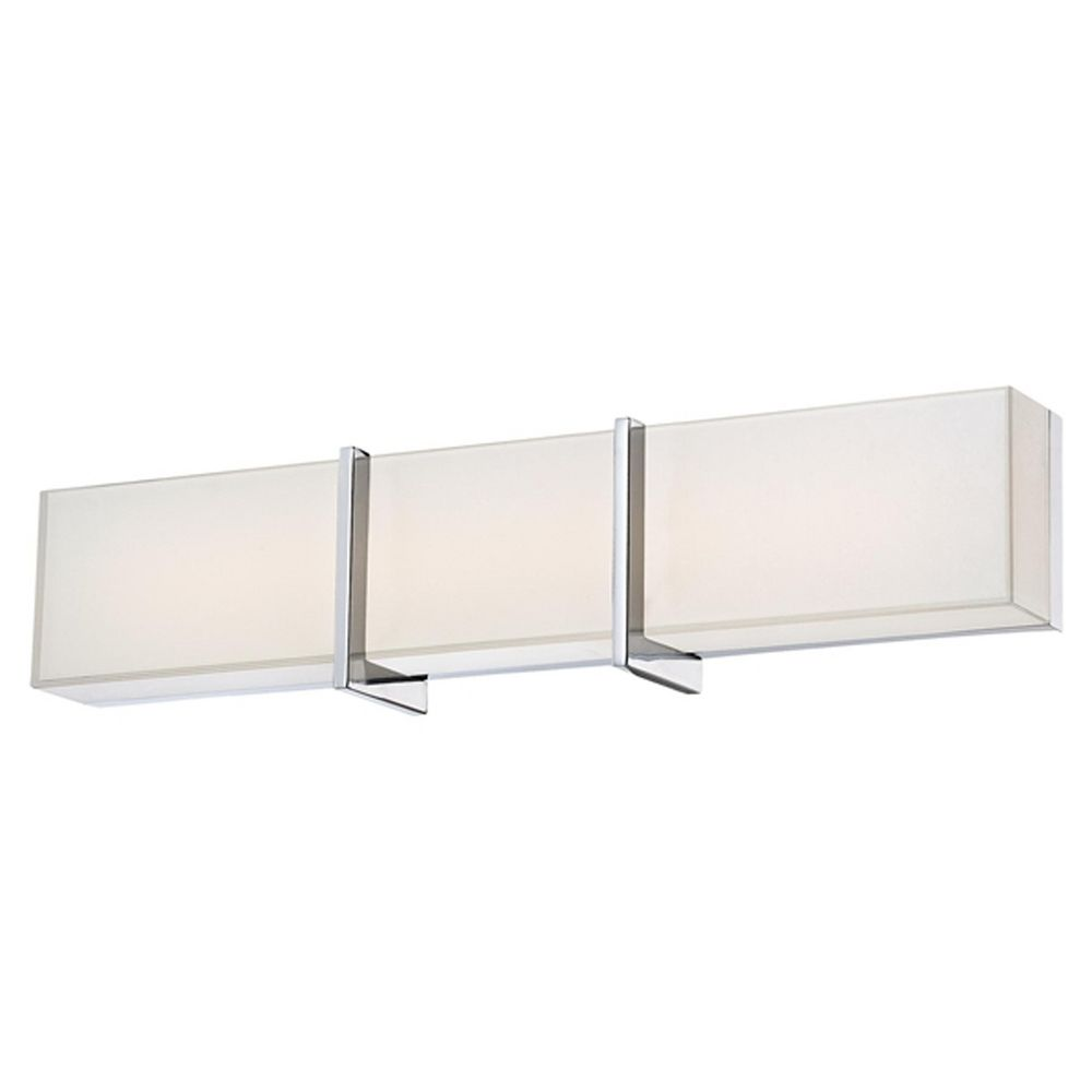 Bathroom lights contemporary bathroom lighting minka lighting high rise led bathroom light in chrome finish aloadofball