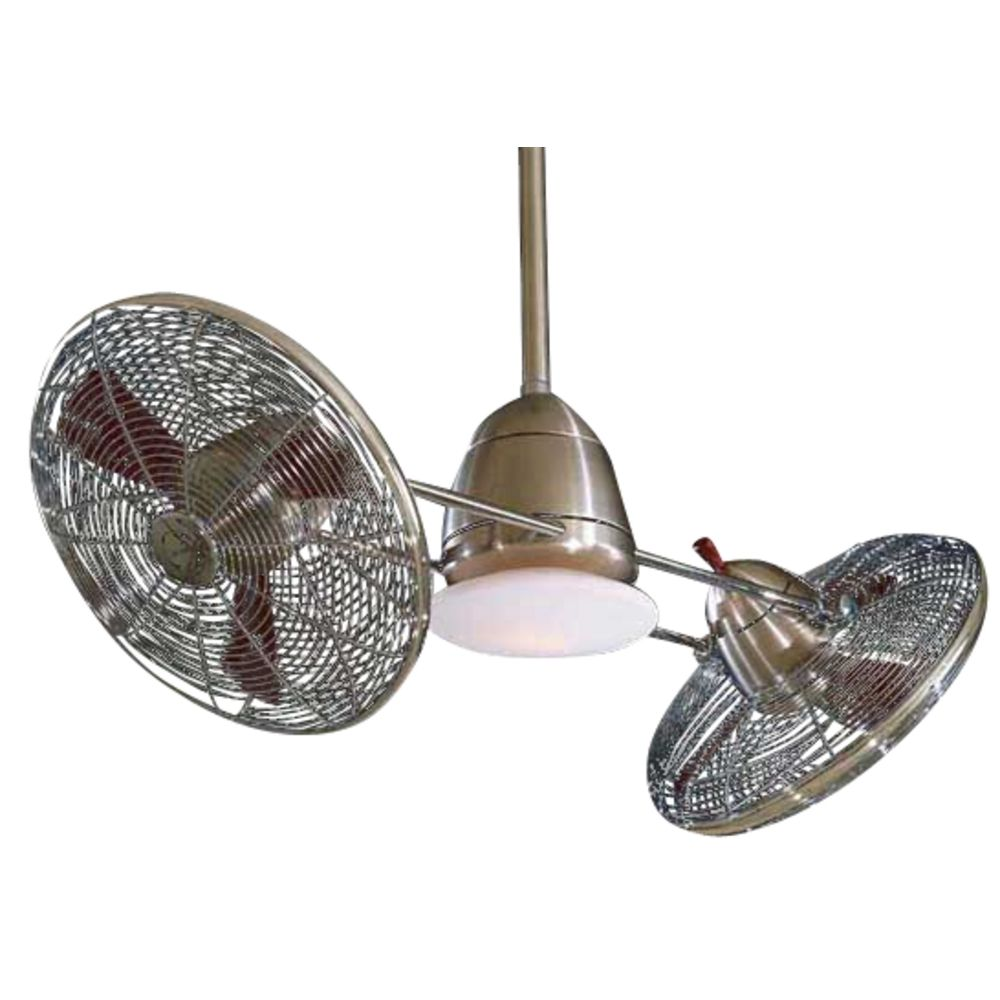 42 Inch Ceiling Fan with Twin Turbofans and Light Kit