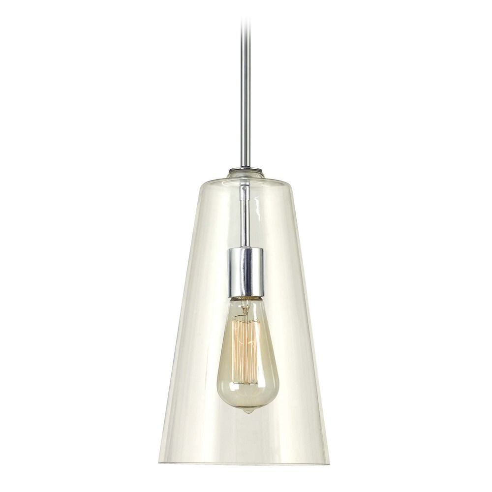kenroy home boda chrome mini pendant light with conical shade 91578ch destination lighting. Black Bedroom Furniture Sets. Home Design Ideas