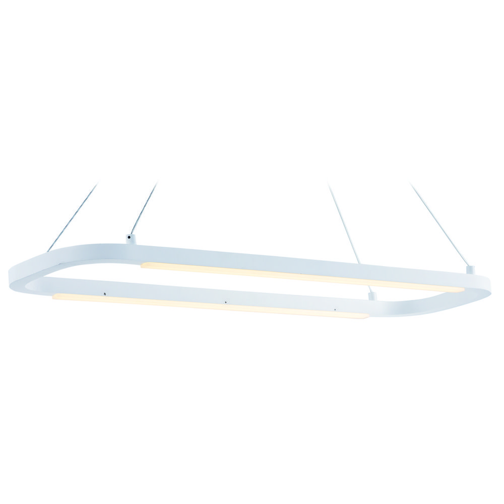 jibe matte white led island light e23204 mw destination lighting