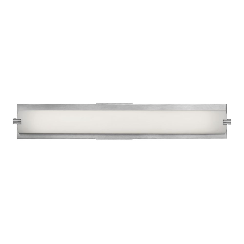 Bathroom Vanity Lights Single : Single-Light ADA Approved Linear Bathroom Vanity Light 31010-BS/OPL Destination Lighting