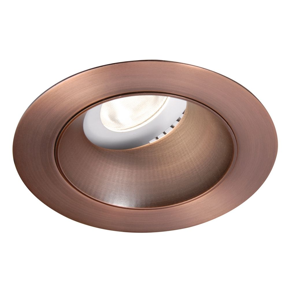 wac lighting copper bronze led recessed trim hr 3led t318s c cb destinati. Black Bedroom Furniture Sets. Home Design Ideas