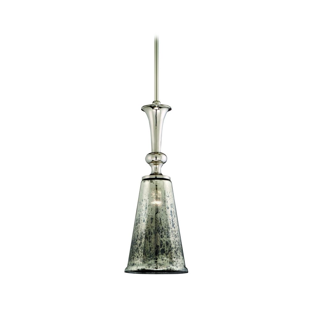 Mini Pendant Light With Mercury Glass