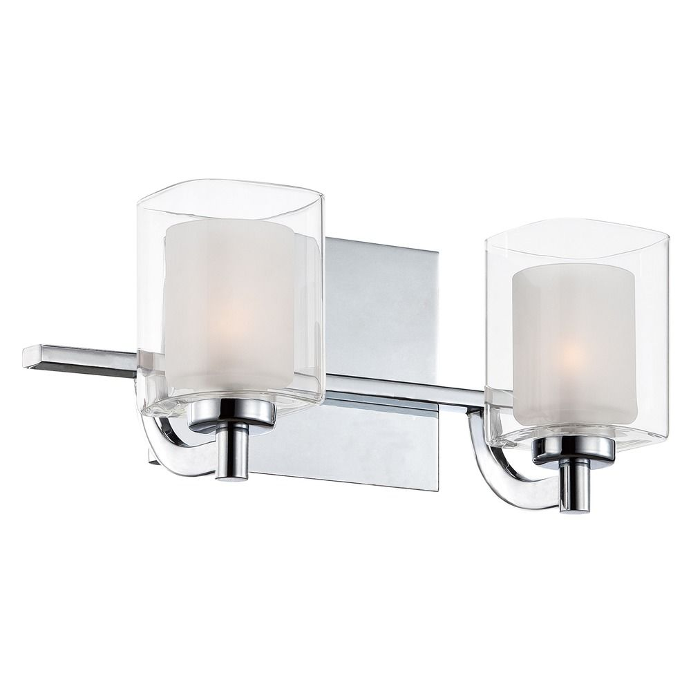 Quoizel Lighting Kolt Polished Chrome Bathroom Light Klt8602cled Destination Lighting