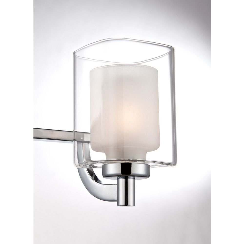 Quoizel Lighting Kolt Polished Chrome Bathroom Light Klt8603cled Destination Lighting
