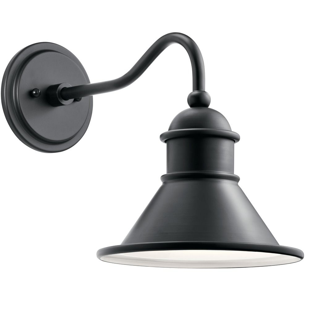 Kitchler: Farmhouse Barn Light Outdoor Wall Light Black By Kichler