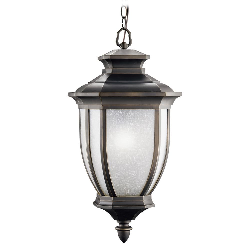 Kichler Lights Outdoor: Kichler Outdoor Hanging Light In Rubbed Bronze Finish