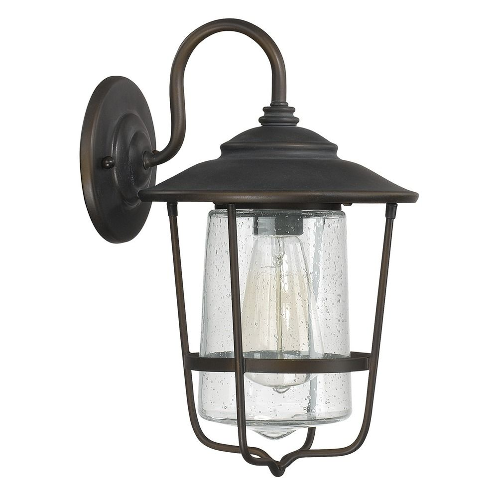 Capital Lighting Creekside Old Bronze Outdoor Wall Light 9601OB Destination Lighting