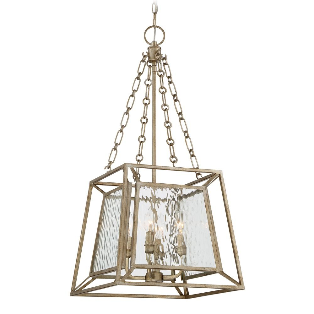 Quoizel Lighting Lakeside Vintage Gold Pendant Light