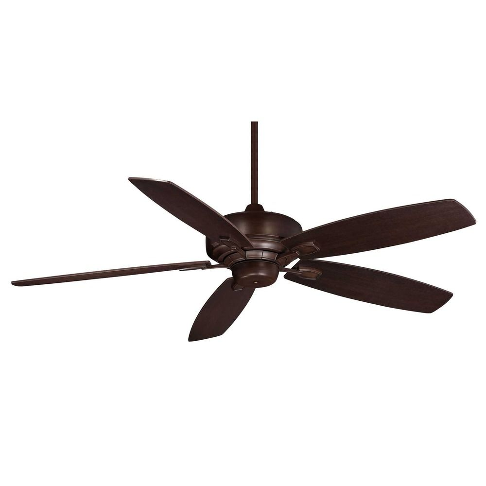 Ceiling Fans Without A Light : Savoy house espresso ceiling fan without light