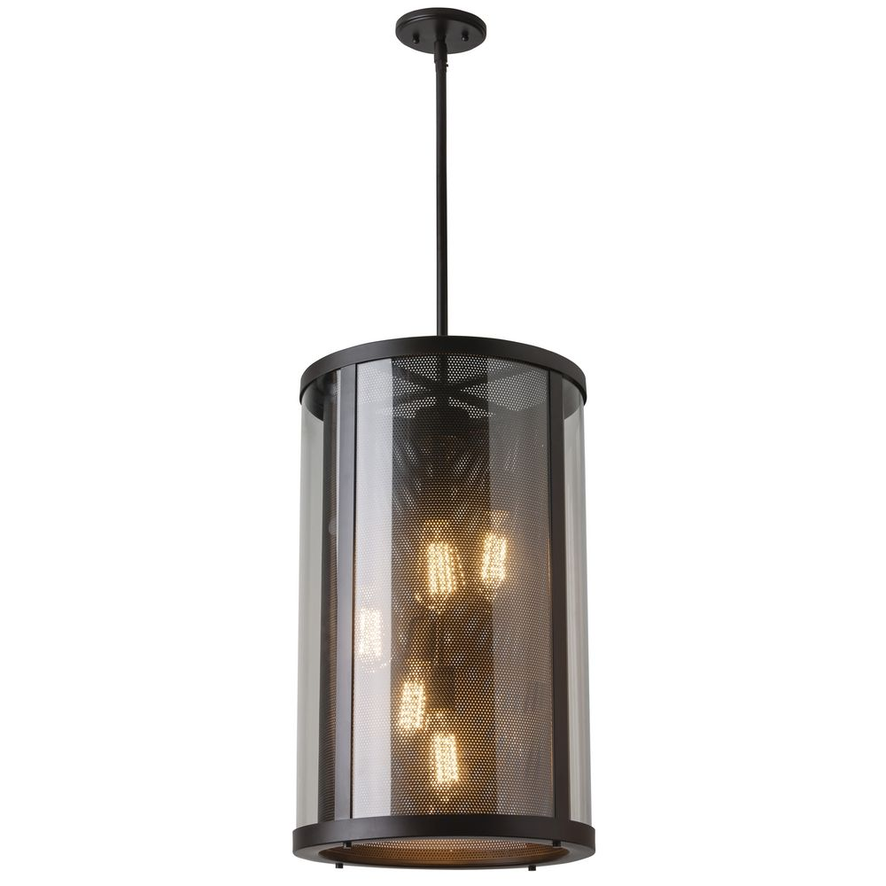 Feiss lighting bluffton oil rubbed bronze outdoor hanging Outdoor pendant lighting
