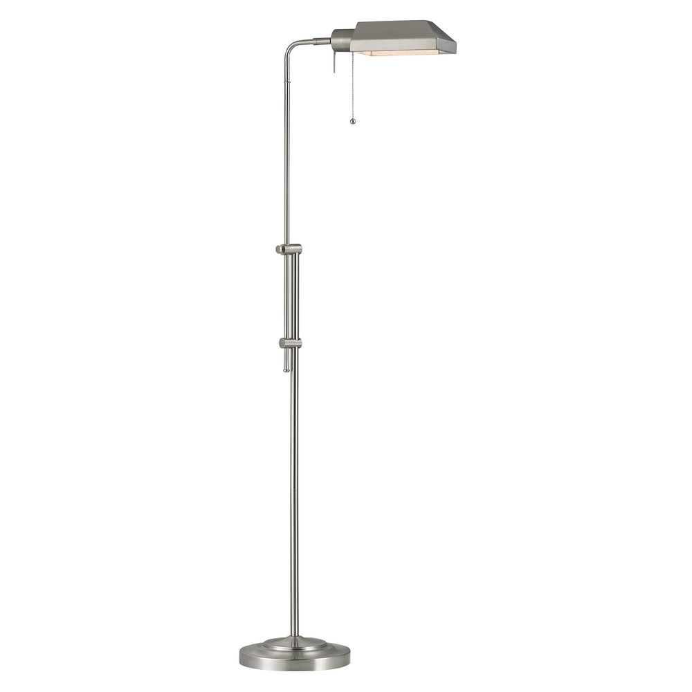Traditional pharmacy adjustable floor lamp in satin nickel finish design classics lighting traditional pharmacy adjustable floor lamp in satin nickel finish 2292 09 hover or click to zoom aloadofball Choice Image