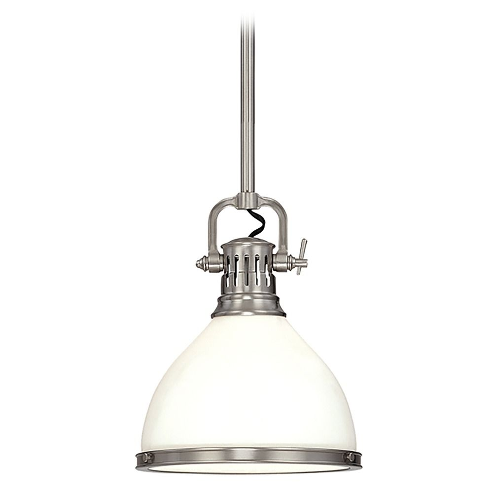 Mini Pendant Light With White Glass 2622 Sn