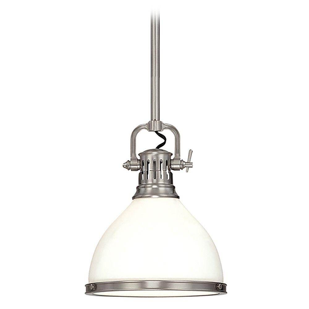 Mini Pendant Light With White Glass 2622 Sn