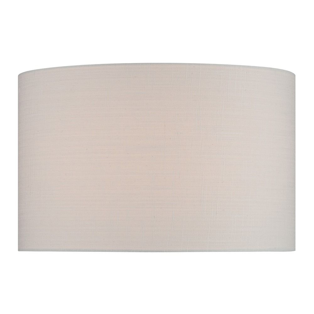 lite source lighting off white drum lamp shade with spider assembly. Black Bedroom Furniture Sets. Home Design Ideas