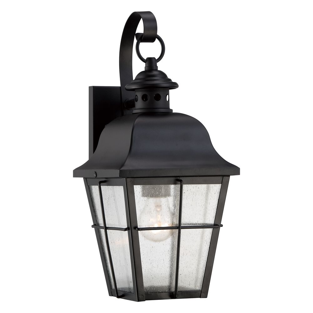 Quoizel Millhouse Mystic Black Outdoor Wall Light
