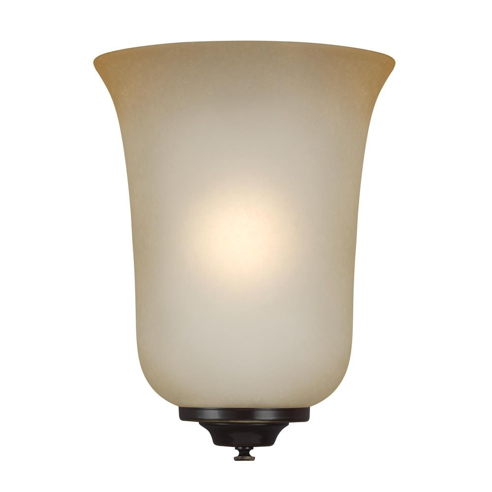 Ada Wall Sconces Led : Sea Gull Lighting Ada Wall Sconces Heirloom Bronze LED Sconce 49139EN-782 Destination Lighting