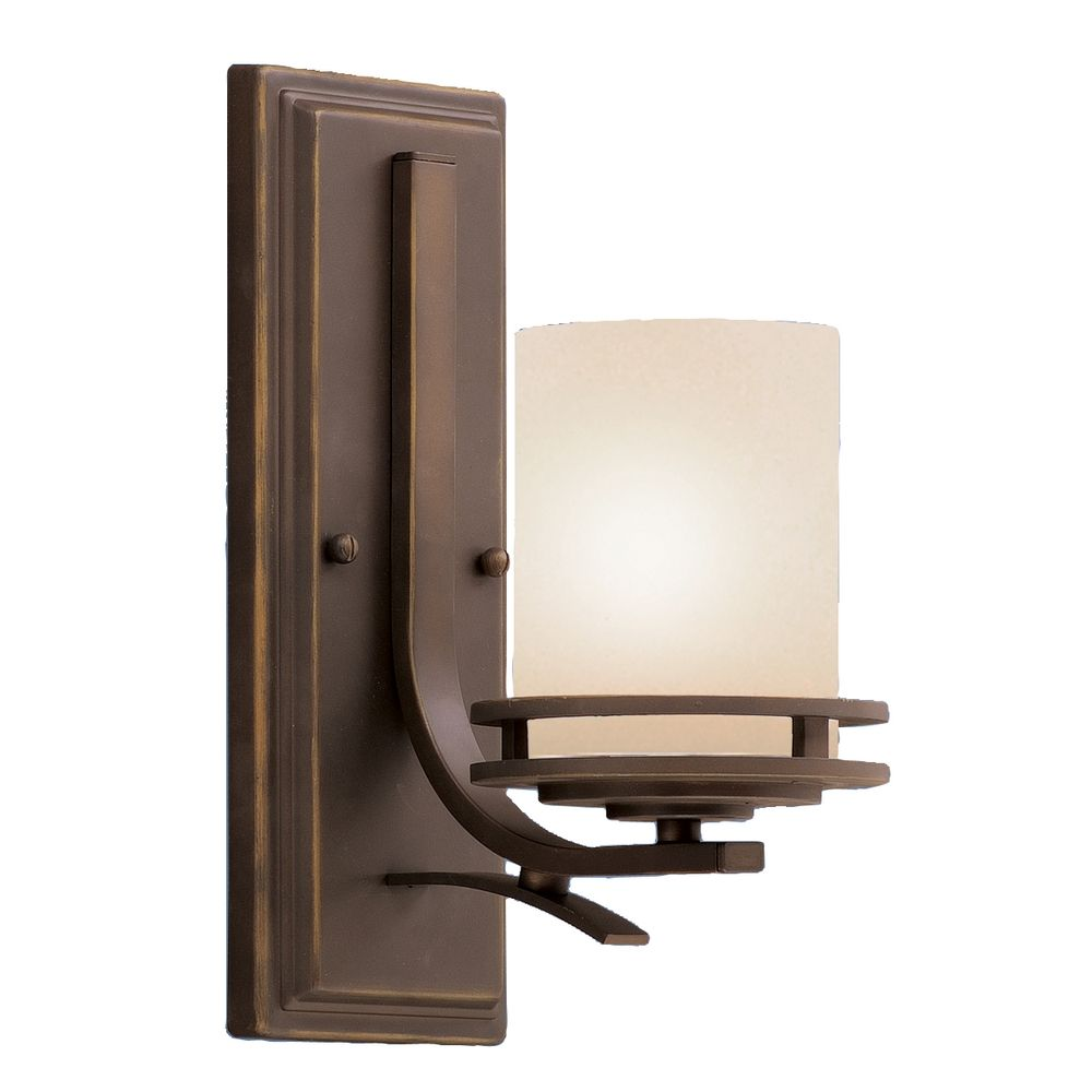 Kichler lighting 42548clp triad 3 light linear pendant classic pewter - Kichler Lighting Haven 1598in H Olde Brick Outdoor Wall Light Hover Or Click To Zoom