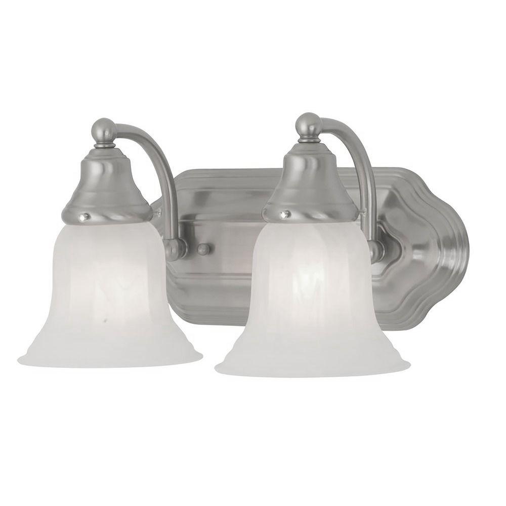 Two Light Bathroom Vanity Light 568 09 Destination Lighting