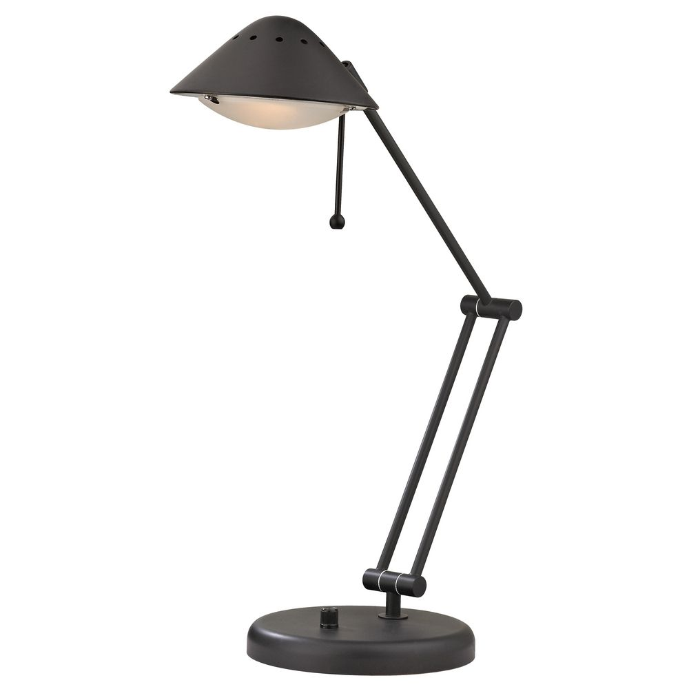 Transitional bolivian bronze adjustable led task desk lamp jt 9927 78 destination lighting - Chandelier desk lamp ...