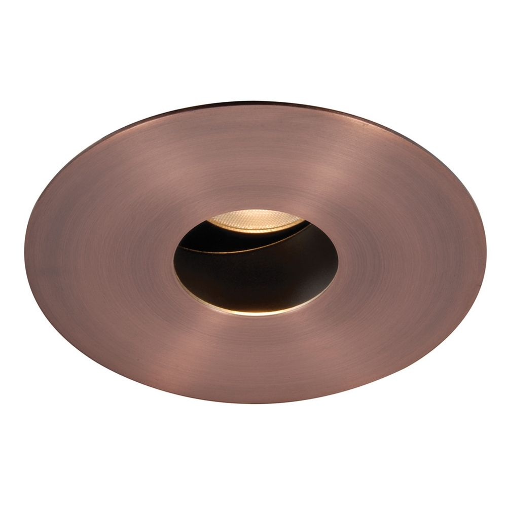 wac lighting copper bronze led recessed trim hr 3led t618s c cb destinati. Black Bedroom Furniture Sets. Home Design Ideas