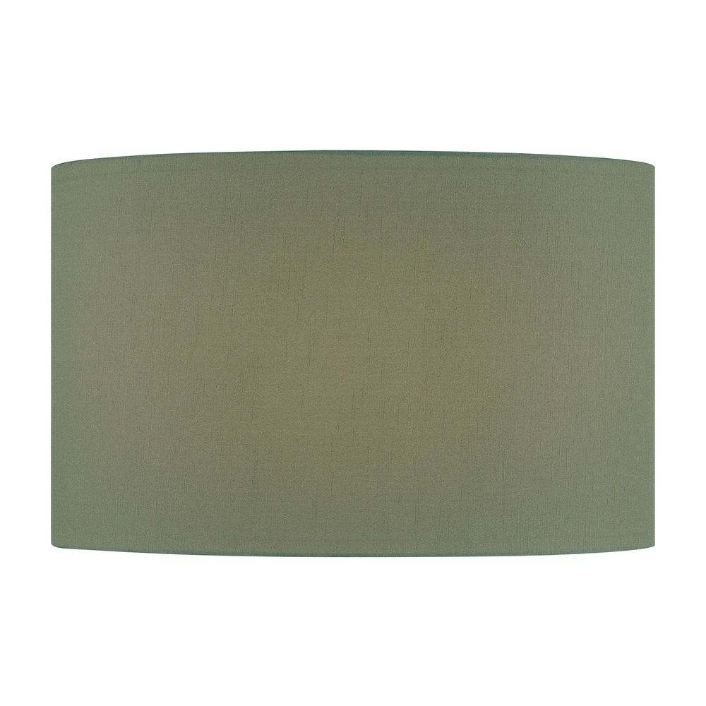 green drum lamp shade with spider assembly ch1243 18. Black Bedroom Furniture Sets. Home Design Ideas