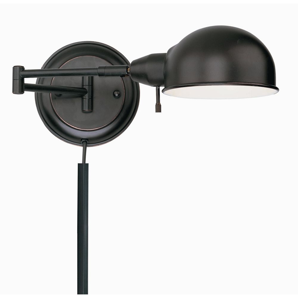 swing arm wall lamp ls 16753aged cp destination lighting. Black Bedroom Furniture Sets. Home Design Ideas