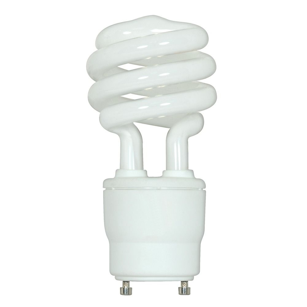 18-Watt GU24 Compact Fluorescent Light Bulb