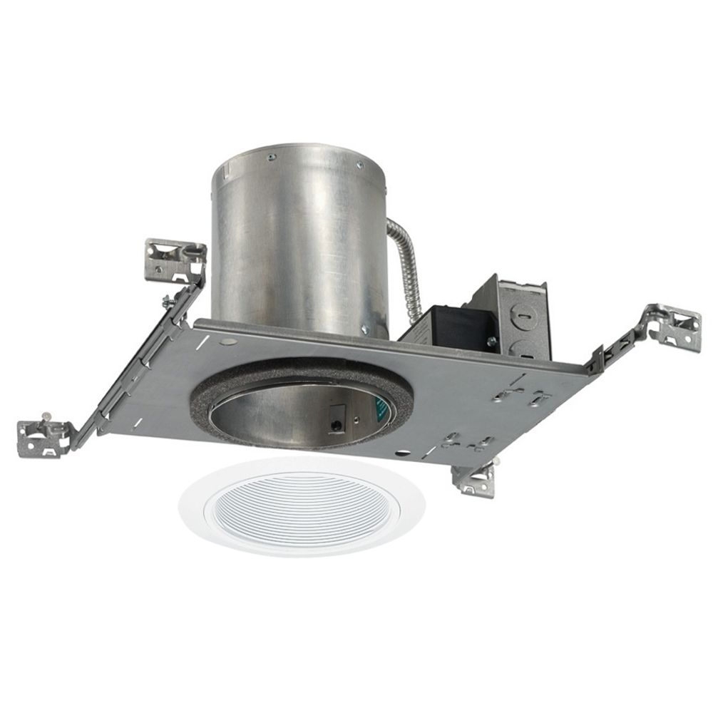 5 inch recessed led lighting kit with white trim ic20led g3 2700k hover or click to zoom aloadofball Image collections