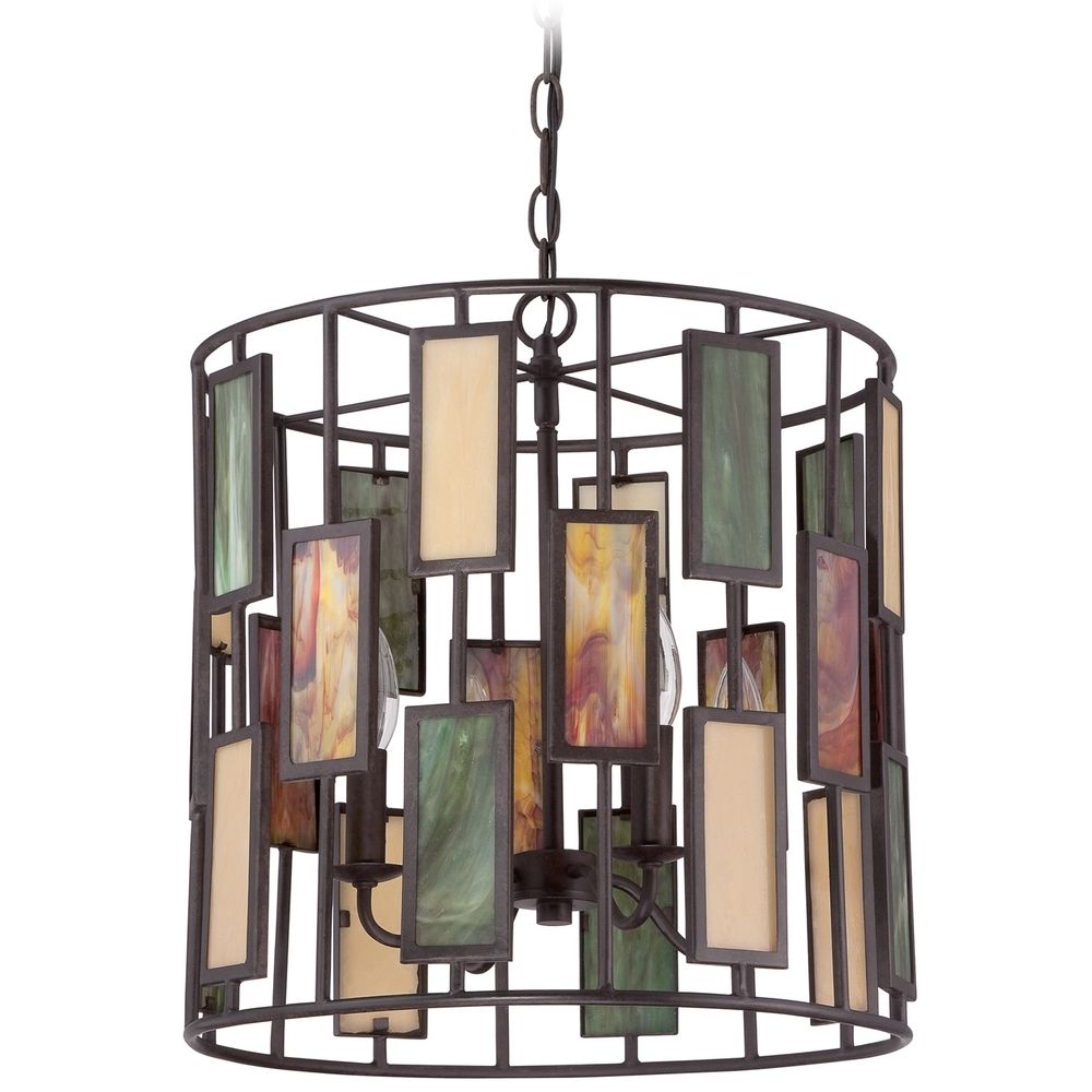Quoizel Tiffany Imperial Bronze Pendant Light