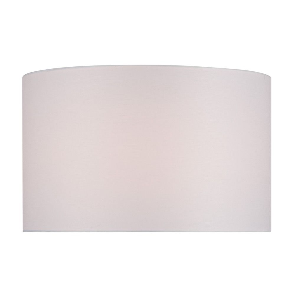 lite source lighting white drum lamp shade with spider assembly ch1250. Black Bedroom Furniture Sets. Home Design Ideas