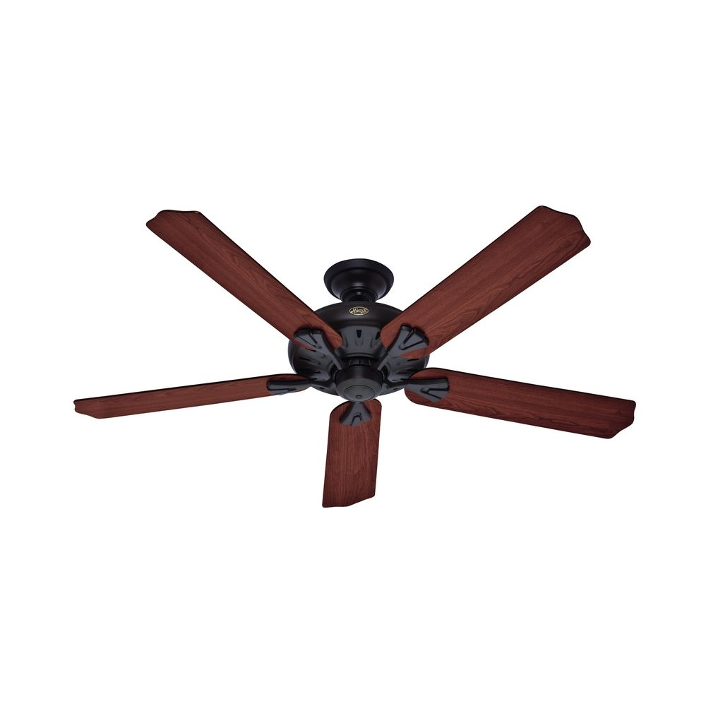 Oak Ceiling Fans With Lights : Hunter fan company the royal oak new bronze ceiling