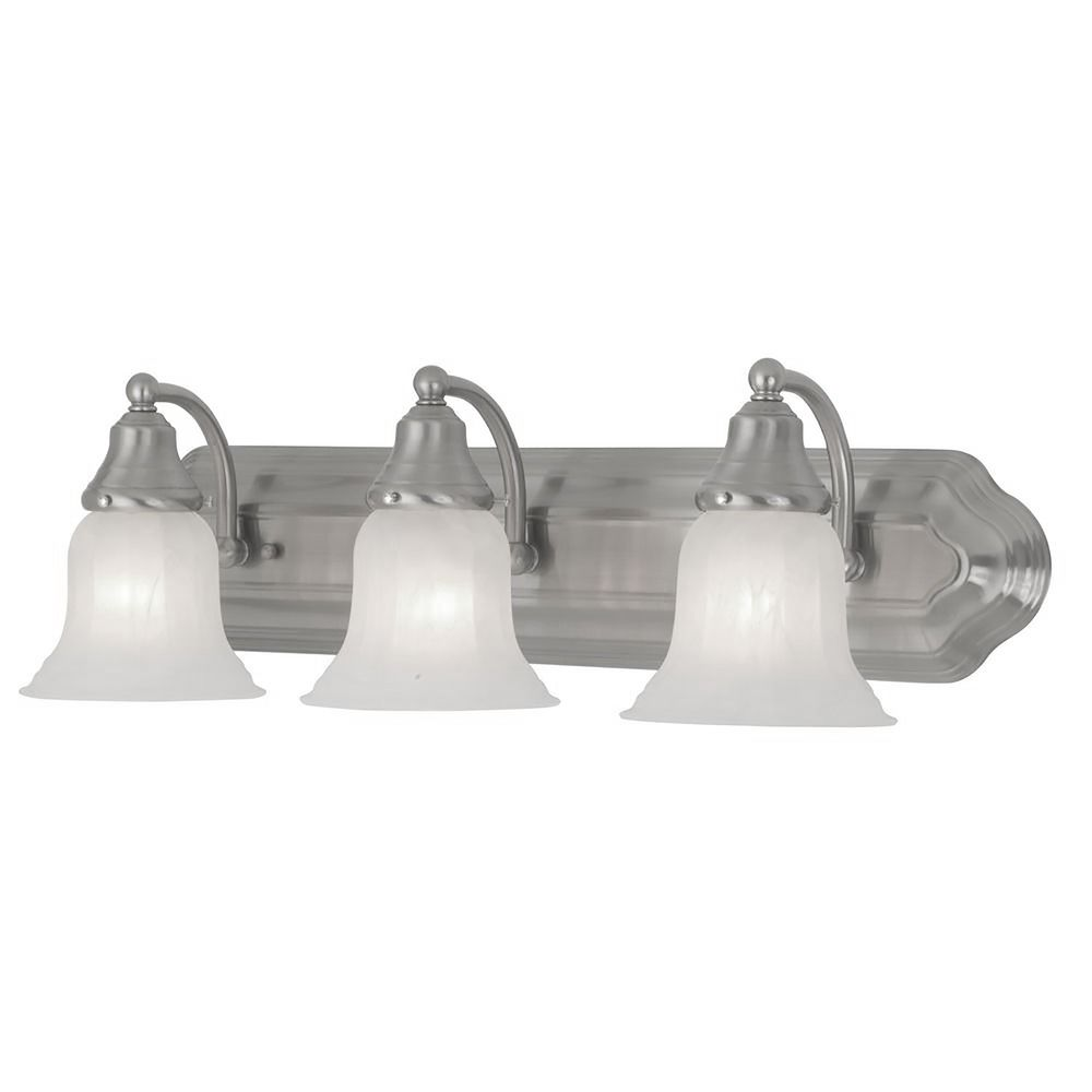 Three light bathroom vanity light 569 09 destination for Bathroom vanity lights