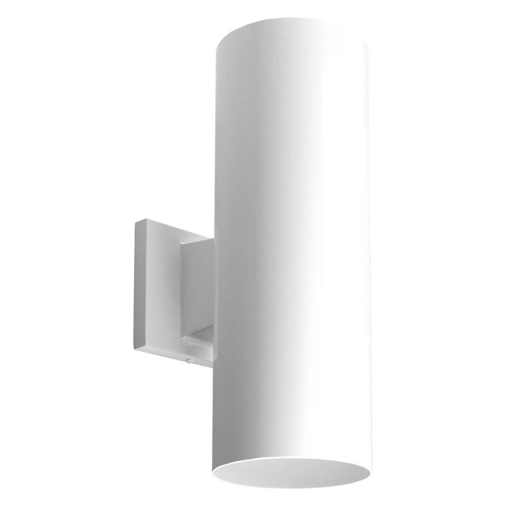 Progress Lighting Cylinder White LED Outdoor Wall Light P5675 30 30K Dest