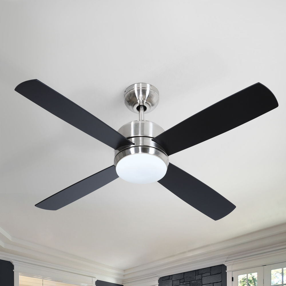 Montreal Stainless Steel Ceiling Fan