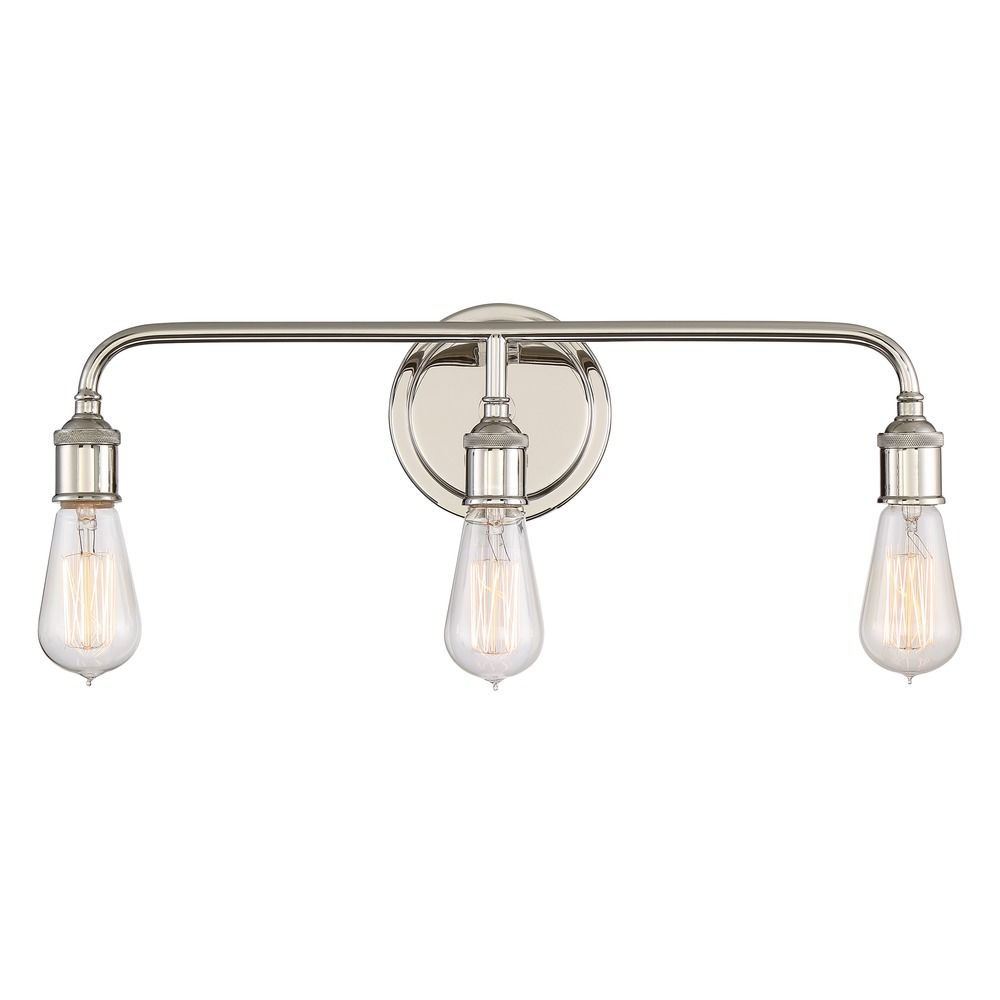 Quoizel Lighting Menlo Imperial Silver Bathroom Light Mno8603is Destination Lighting