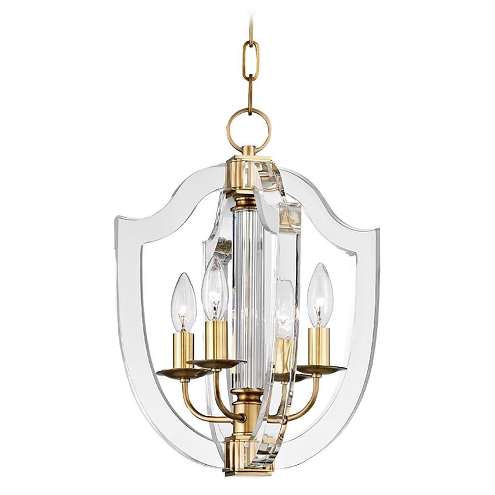 Hudson Valley Lighting Outlet: Hudson Valley Lighting Arietta Aged Brass Pendant Light