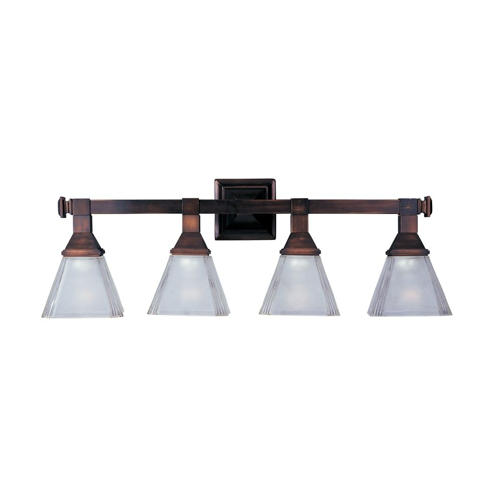 Maxim Lighting Brentwood Oil Rubbed Bronze Bathroom Light ...