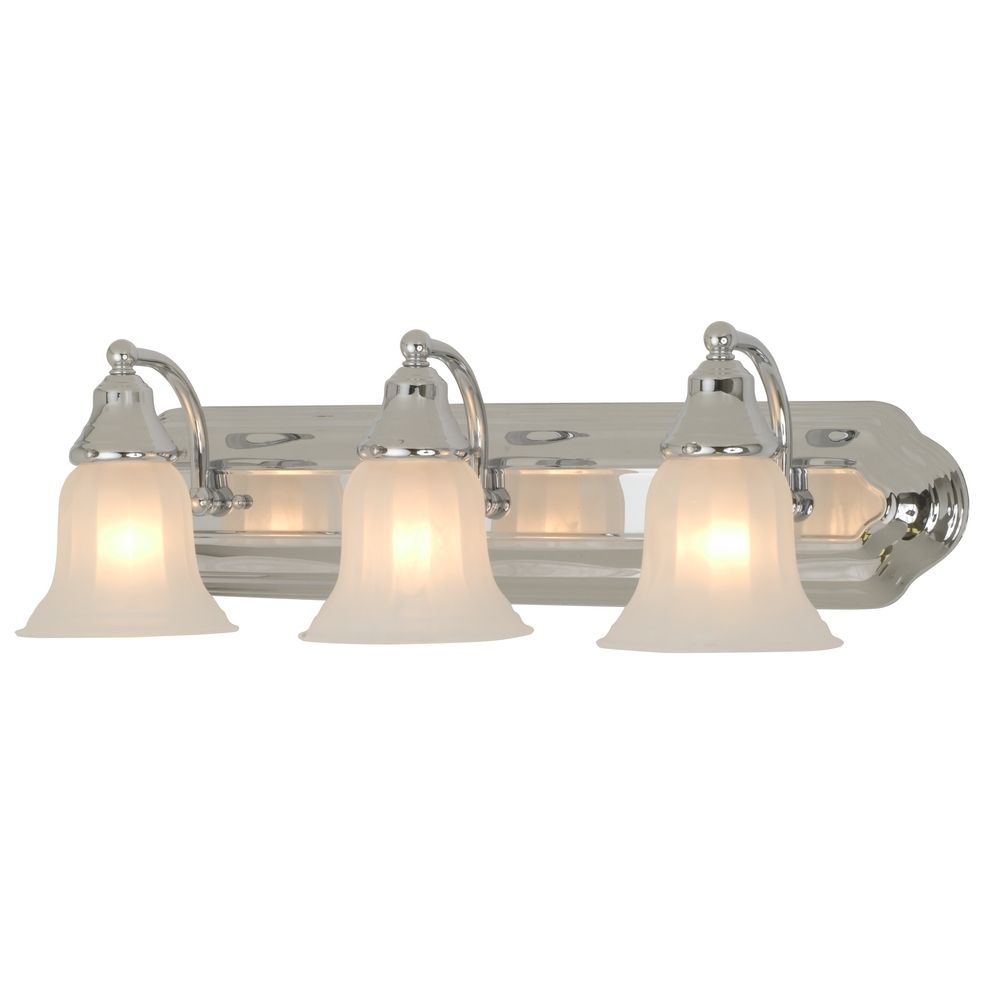 Three-Light Bathroom Vanity Light 569-26 Destination Lighting