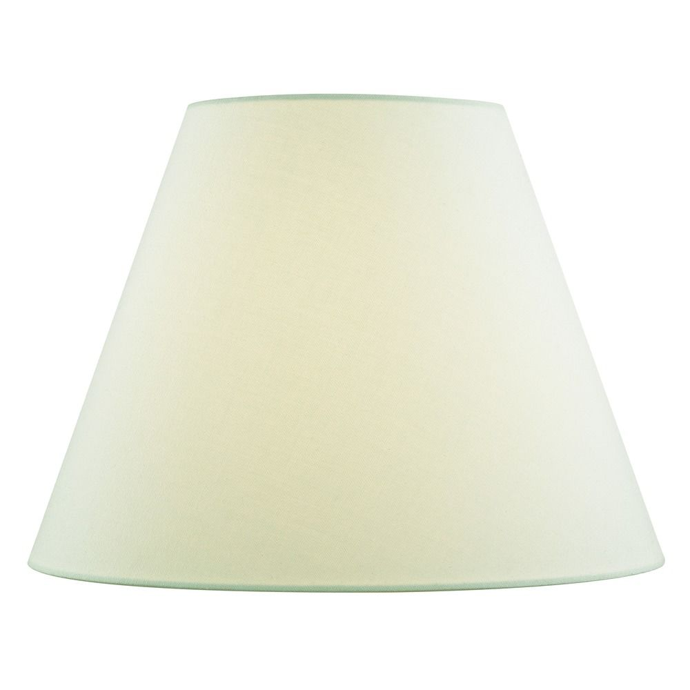Light Green Empire Fabric Lamp Shade With Spider Embly At Destination Lighting