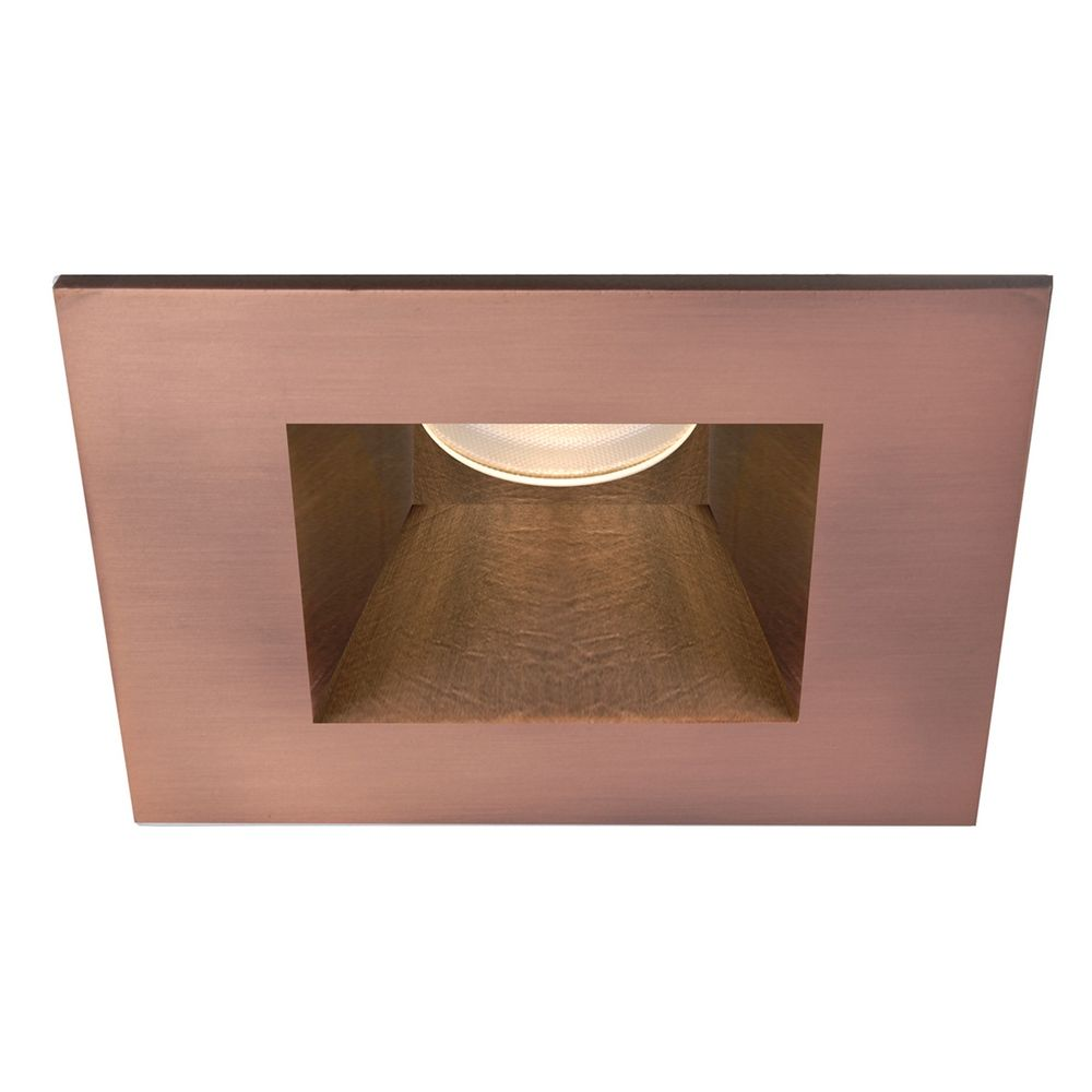 wac lighting copper bronze led recessed trim hr 3led t718s c cb destinati. Black Bedroom Furniture Sets. Home Design Ideas