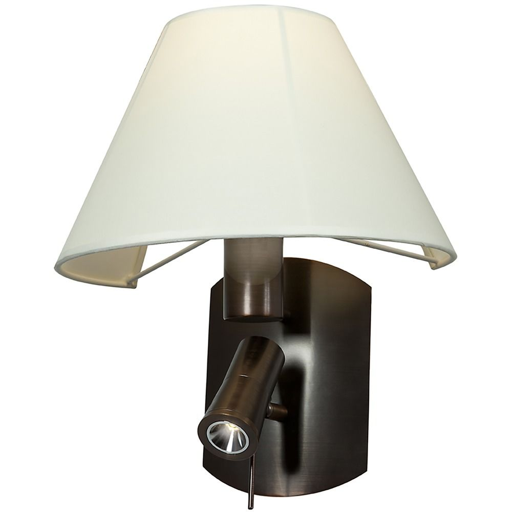 access lighting cyprus bronze wall lamp 70017led