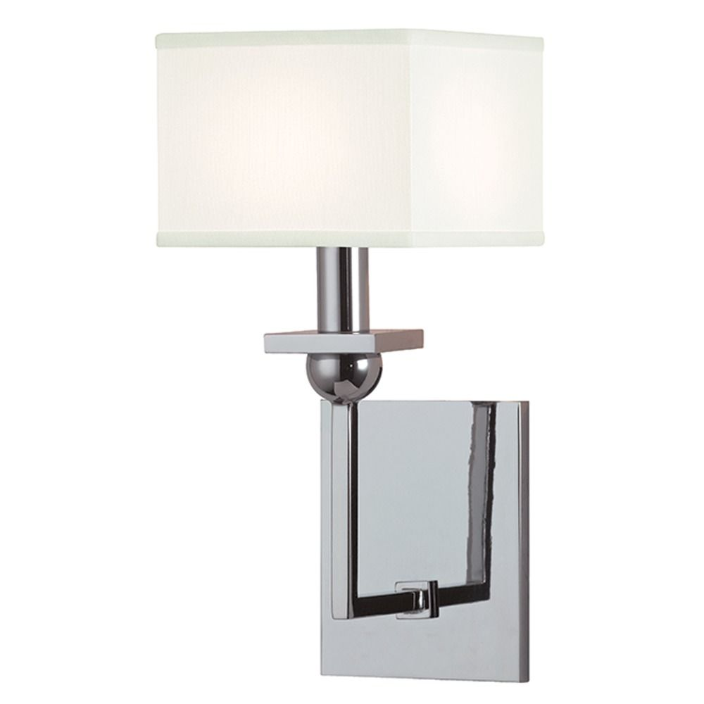Hudson Valley Lighting Bourne: Morris 1 Light Sconce Square Shade