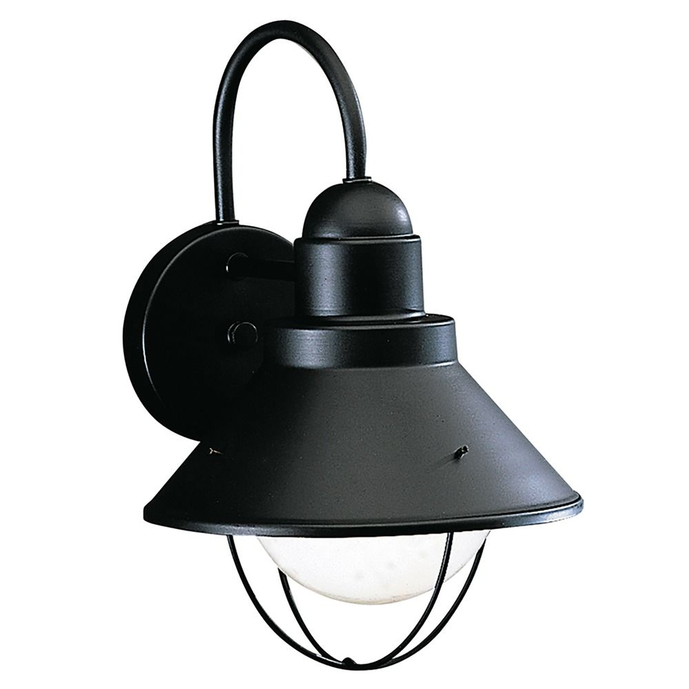 Wall Lamps For Outside : Kichler Outdoor Wall Light in Black Finish 9022BK Destination Lighting
