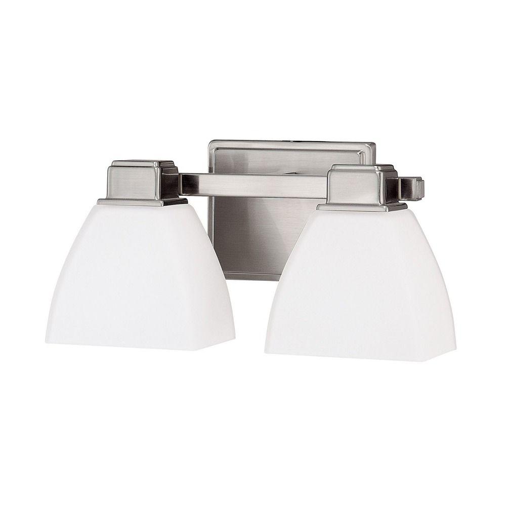 Capital Lighting Brushed Nickel Bathroom Light 8512bn 216 Destination Lighting