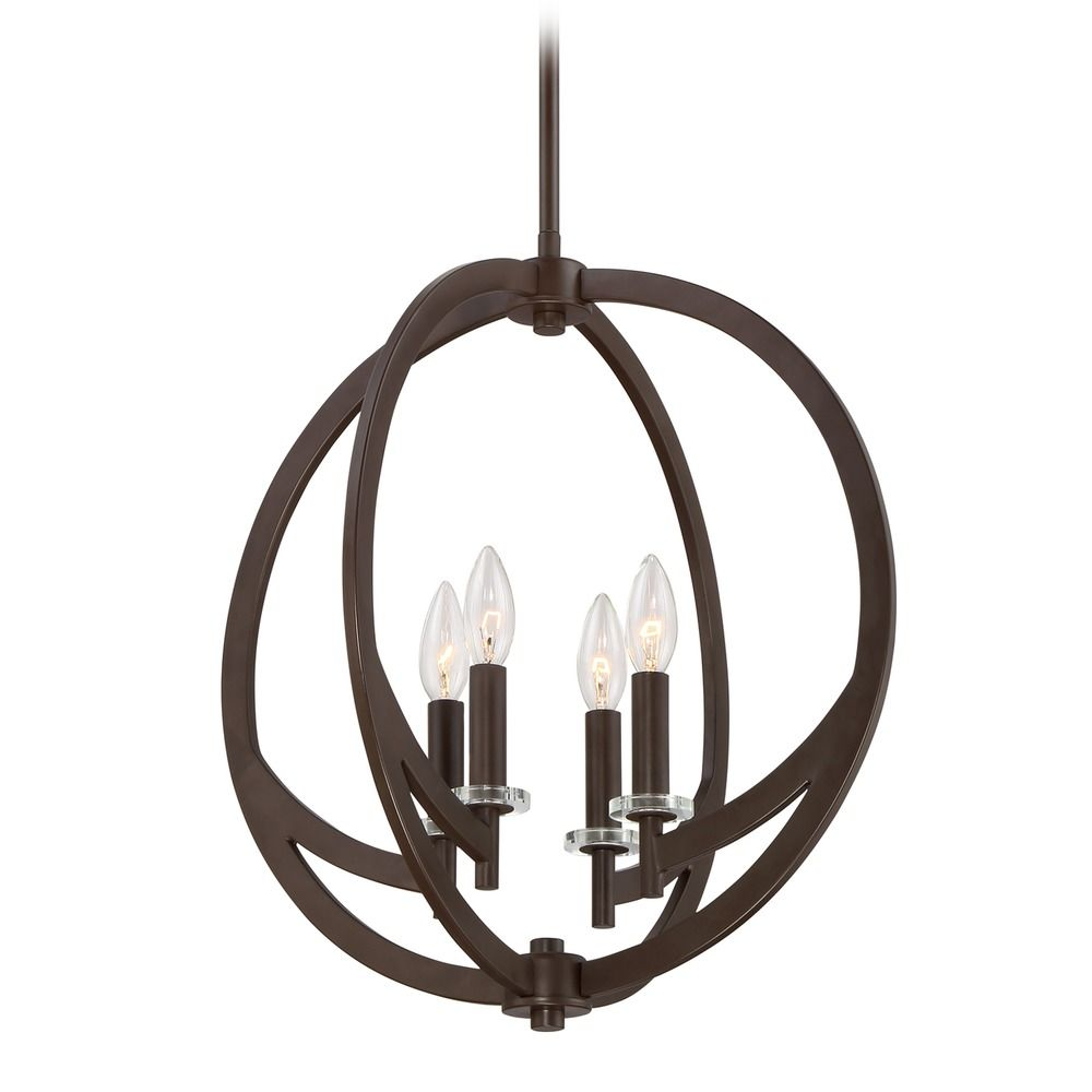 Quoizel Lighting Orion Western Bronze Pendant Light