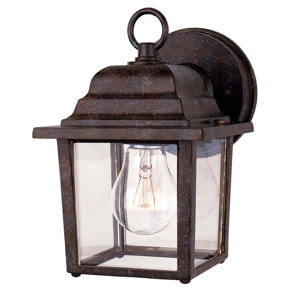Savoy house rustic bronze outdoor wall light 5 3045 72 for Outdoor porch light fixtures