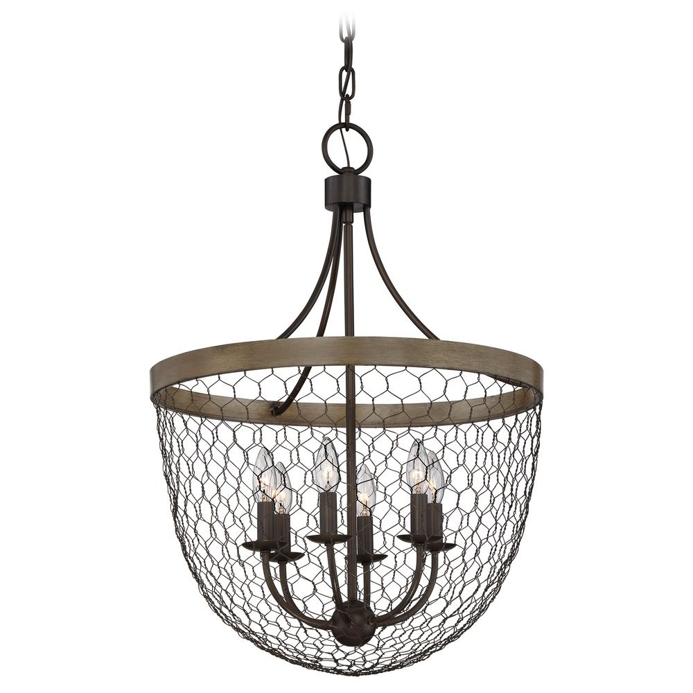 Magnificent Chicken Wire Light Fixture Embellishment - Electrical ...